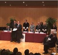 El Colegio de Abogados de Lleida da su reconocimiento a D. Javier Gonzalo Migueláñez - Presidente de Gonzalo Abogados por sus 40 años de colegiado y de ejercicio profesional.